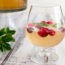 Champagne Punch with Gingerale and Orange