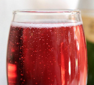 Poinsettia Mimosas Champagne Cocktail Recipe