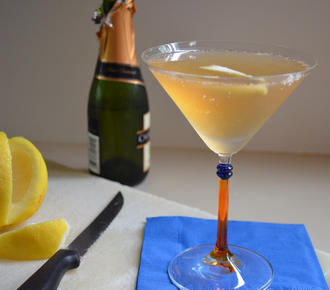 french75 champagne cocktail recipe