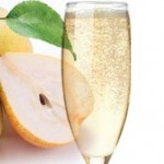 pear champagne cocktail recipe