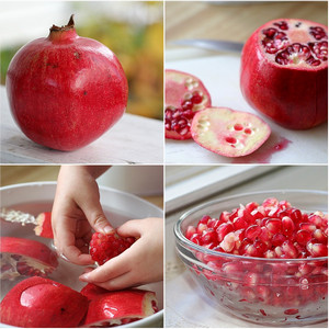how to tell a good pomegranate