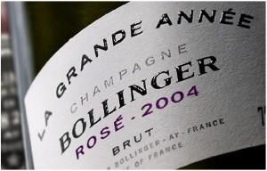 Bollinger La Grande Année Brut Rose 2004