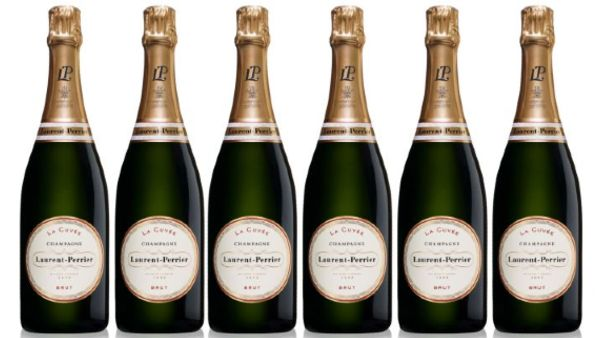 Laurent Perrier Champagne Bottles