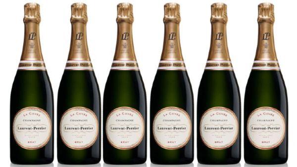 Laurent Perrier Champagne Bottles