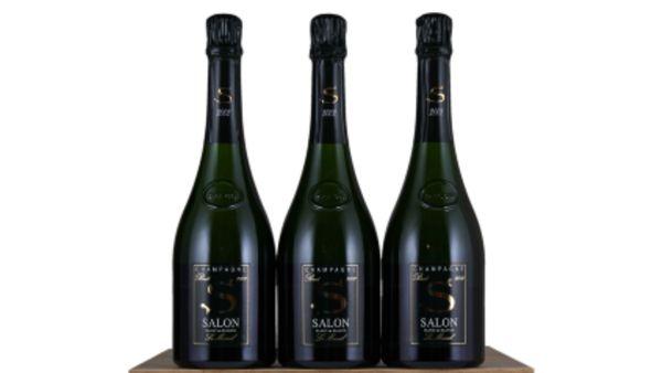 Salon Champagne Bottles
