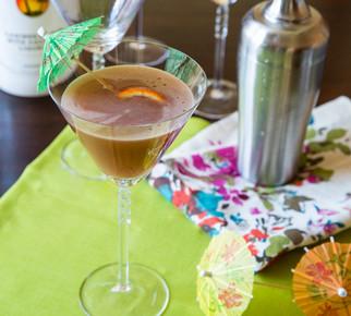 Haleakala Holiday Champagne Cocktail