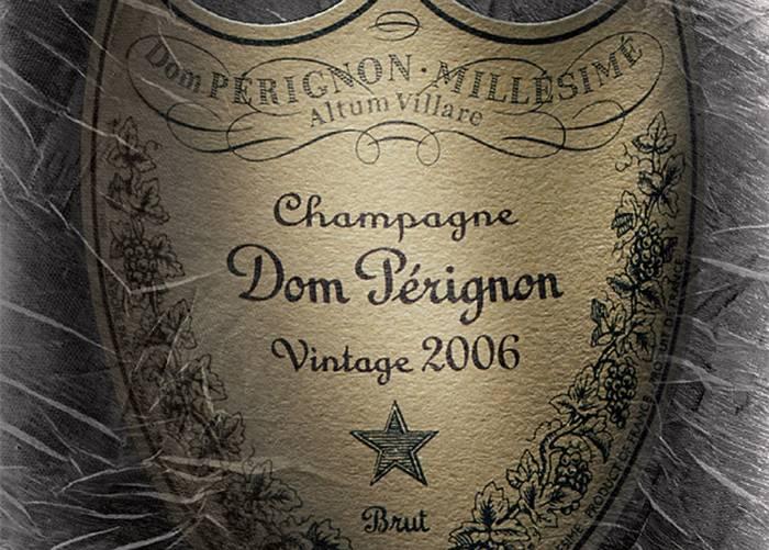 Dom Perignon Vintage 2006 Label
