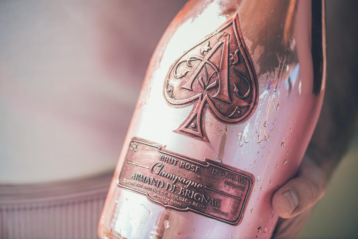 "Armand de Brignac ""Ace of Spades"" Rose"